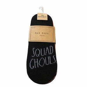 🆕 Rae Dunn HALLOWEEN Liner Socks 6 Pack